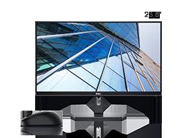 "Kit Monitor 24"" SE2419HR + Mouse Sem Fio MS3320W"