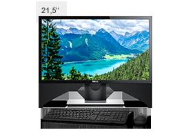 Kit Monitor SE2216H + Teclado eMouse sem fio KM636